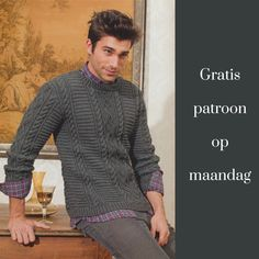 Needle And Thread, Men Sweater, Sewing, Knitting, Crochet, Pattern, Sweaters, Inspiration, Women