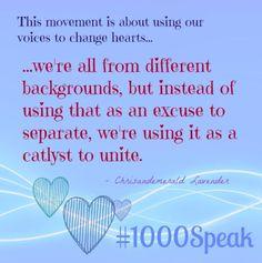 #1000Speak Voices for Compassion