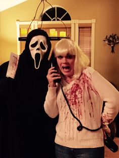 Scream couples costume #halloween