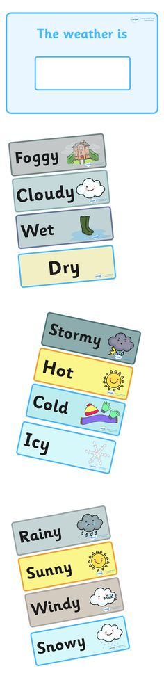 Twinkl Resources >> Weather Display  >> Classroom printables for Pre-School, Kindergarten, Primary School and beyond! editable, weather, change, interactive