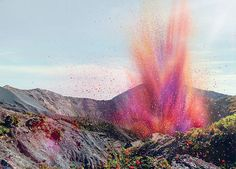 A British special effects team brought various wind machines to blow the petals around and create the amazing sights in the video. Some visu...