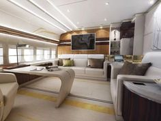 Most Luxurious Private Jets in the World Jets Privés De Luxe, Luxury Jets, Luxury Private Jets, Private Plane, Boeing Business Jet, Sala Vip, Aviation Blog, Jet Aviation, Boeing 747 8