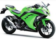 The new 2014 Kawasaki Ninja 650 ABS has unique and cool body design. The 2014 Kawasaki Ninja 650 ABS liquid-cooled, DOHC, eight-valve. Kawasaki Ninja 250r, Motor Kawasaki, 2013 Kawasaki Ninja 300, Moto Ninja, Ninja Motorcycle, Motorcycle Tips, Ninja Bike, Motorcycle License, Motorcycle Quotes