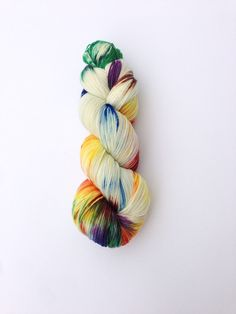 Hand gefärbt Strickgarn stricken Garn von KnitStitchYarn auf Etsy