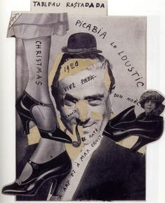Francis Picabia - Tableau RastaDada, 1920. (see /\rt╬•Francis Picabia http://pinterest.com/47fourseven/rtfrancis-picabia/ )