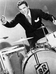 Buddy Rich, great jazz drummer. Jazz Artists, Jazz Musicians, Rock And Roll, Damien Chazelle, Vintage Drums, Cool Jazz, Drummer Boy, Jazz Blues, Music Stuff