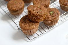 (Vegan) Spelt Flour Zucchini - Maple Muffins