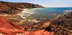 La sorprendente praia do Castelejo, cerca de Sagres, en Algarve - Las 50 mejores playas de Portugal