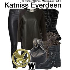 Katniss Everdeen in #TheHungerGames: #MockingjayPart1