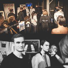 Backstage at Mercedes-Benz Fashion Week Berlin with Swedish label UBI SUNT. Photography: Lars Brandt Stisen #MBFWB #MBFW #BTS