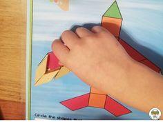 Transportation Pattern Block Mats - Pre-K Printable Fun Outer Space Activities, Transportation Preschool Activities, Transportation Theme, Build Math, Ocean Themes, Dramatic Play, Teacher Hacks, Pattern Blocks, Early Learning