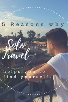 Have you ever considered traveling all by yourself? Most people think it's strange or boring but I can promise you'll have the time of your life! Don't believe me? Check out my brand new article and find out 5 reasons why everyone should consider Solo Travel!