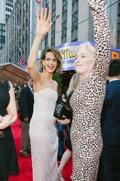The Best Red Carpet Candids at the 2017 Tony Awards