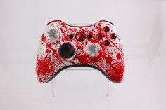 PreDesigned Blood Splatter Custom Xbox 360 Controller - Brand New 360 Controller