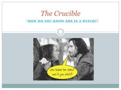 the crucible essay on witchcraft