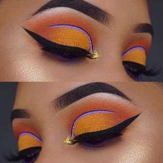 Halloween Soon! Halloween Makeup Is Perfect For Nyx Cosmetics . Makeup Goals, Makeup Inspo, Makeup Inspiration, Makeup Tips, Makeup Ideas, Eye Makeup Art, Beauty Makeup, Face Makeup, Colorful Makeup