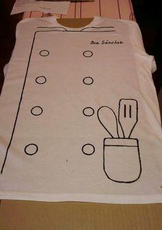 Disfraces, Disfraz de cocinero, disfraces hechos por uno mismo, diy