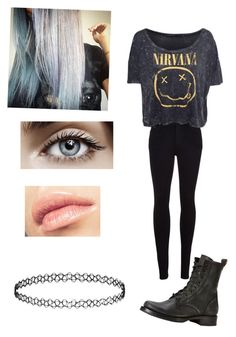 """""""Untitled #43"""" by moonlightpanda1 ❤ liked on Polyvore featuring Citizens of Humanity, Frye, CO and Topshop"""