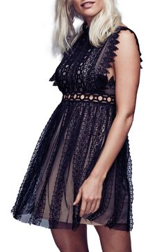 Free People Forever Lace Babydoll Dress - $546.00 (Also available in White)