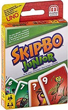 Amazon Com Mattel Games Skip Bo Junior Card Game Toys Games In 2020 Card Games Skip Bo Card Game Mattel