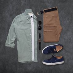 Casual fashion - Stylish Mens Clothes That Any Guy Would Love Smart Casual Men, Business Casual Men, Style Masculin, Casual Outfits, Fashion Outfits, Fashion Clothes, Outfit Grid, Best Mens Fashion, Mens Clothing Styles
