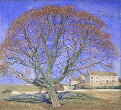 William Rothenstein (1872-1945) - St. Martin's Summer