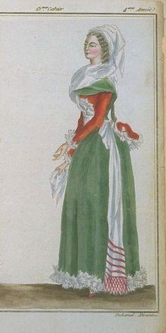 Magasin des Modes, April 1789.