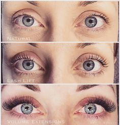 03a0aa44518 Lash Lift vs. Lash Extensions Both amazing! We understand that lash styling  is just