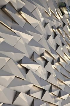 Facade to Titanic exhibit in Belfast | CivicArts & Todd Architects