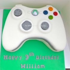 controller cake - cake by The Billericay Cake Company - CakesDecor - Birthdays & Party Ideas. -Xbox controller cake - cake by The Billericay Cake Company - CakesDecor - Birthdays & Party Ideas. Teen Boy Birthday Cake, Birthday Games, 10th Birthday, Birthday Ideas, Xbox Party, Teen Boy Cakes, Cakes For Boys, Cake Kids, Video Game Cakes