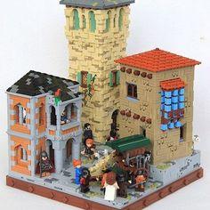 Dwarven Trade. More at Archbrick.com #lego #legomoc #legobuilding #thehobbit