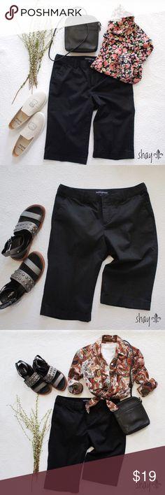 Black Bermuda Chino Shorts Description and Measurements coming soon! Banana Republic Shorts Bermudas