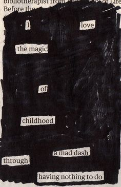 These are two of my newspaper blackout poems, inspired by Austin Kleon. They are created by picking out words from newspaper articles in order to create new meaning. I think it's reall… Blackout Poetry, Poetry Art, Writing Poetry, Pretty Words, Beautiful Words, Poem Quotes, Life Quotes, Found Poetry, All The Bright Places