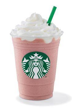 Frutilla Cremé Frappuccino®  Deliciosa mezcla de crema de frutilla batida con…