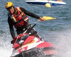 """I corsi di specializzazione per l'utilizzo delle Aquabike in acque chiuse o aperte, vengono organizzati dalla K38 Italia su tutto il territorio Nazionale ed Internazionale. """"Water Safety in Not a Game"""" per maggiori informazioni visita il sito K38 Italia"""
