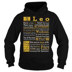 Cool AWESOME LEO Shirt; Tee