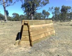 Image detail for -Not Just Logs: Examples of portable cross country jumps