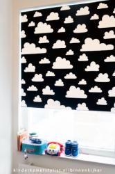 Wolken rolgordijn mini&co