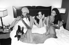 Eva Mendes, Liv Tyler and Frankie Rayder Shot by Terry Richardson, 2011
