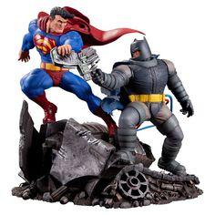 DC Collectibles The Dark Knight Returns: Superman Vs. Batman Statue   eBay