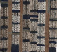 Frank Connet : Artwork : Textiles : Early Selected Work : Work on Hemp Textiles, Textile Patterns, Textile Design, Print Patterns, Shibori Fabric, Shibori Tie Dye, Textile Fiber Art, Textile Artists, Fibre Art