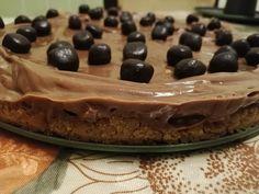 Τσιζκέικ με νουτέλα !!! ~ ΜΑΓΕΙΡΙΚΗ ΚΑΙ ΣΥΝΤΑΓΕΣ 2 Deserts, Pie, Pudding, Sweets, Chocolate, Coffee, Food, Torte, Kaffee