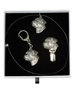 Border Terrier, Terrier Dogs, Casket, Jewelry Sets, Drop Earrings, Chain, Elegant, Silver, Image Link