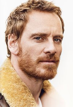 Michael Fassbender by Matthew Brookes for GQ UK. : LadyBoners Michael Fassbender by Matthew Brookes Gq, Beautiful Celebrities, Gorgeous Men, British Celebrities, Redhead Baby, Ginger Men, Ginger Beard, Male Face, Beard Styles