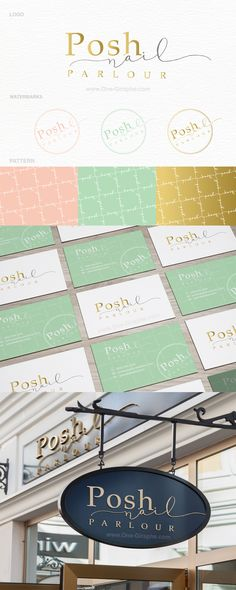 www.One-Giraphe.com #portfolio #logo #logodesign #nail #gold #luxury #graphic #behance #logodesigner #cosmetic #lux http://one-giraphe.com/prev.php?c=162