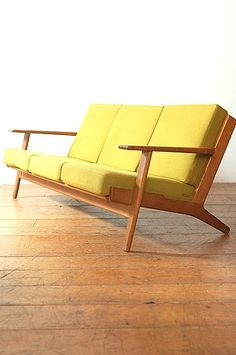 Original Hans Wegner Oak Sofa