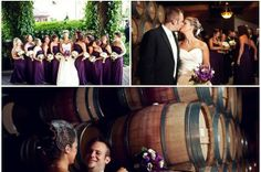Lynfred Winery Wedding Pictures | Kara Schultz Wedding Photography - Chicago, Milwaukee, Madison and Beyond #Lynfred