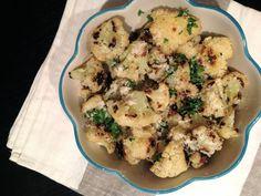 Edible Life in YYC: Parmesan & Garlic Roasted Cauliflower
