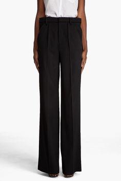 wide waist margiela trousers