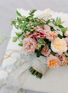 Stunning Wedding Bouquet - Jose Villa Photography